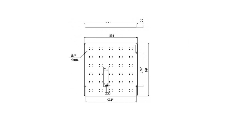 Габаритные размеры LL-DVO-033-ALISA