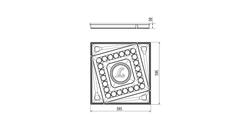 Габаритные размеры LL-DVO-033-NIKA
