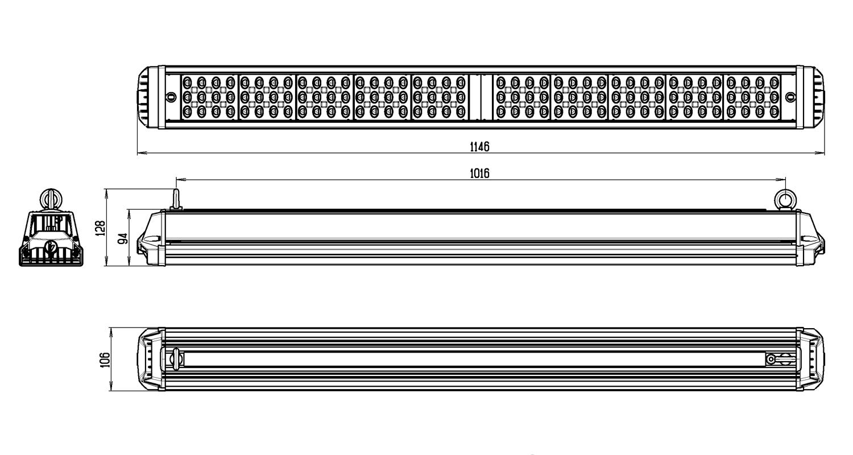 Габаритные размеры INDUSTRY.3-270-160/160 (арт.71217041032080)