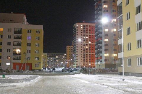 Проект освещения жилых кварталов в районе Академический