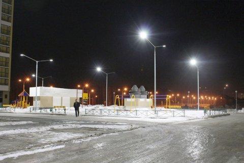 Светодиодное освещение жилых кварталов в г. Екатеринбург