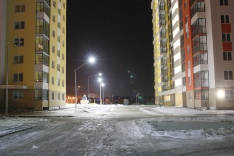 LED освещение жилых кварталов в г. Екатеринбург