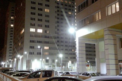 Светодиодное уличное освещение в Люберцах