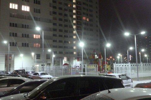 Дворовое LED освещение в Люберцах