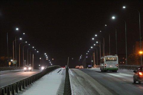 Проект освещения автомобильного моста