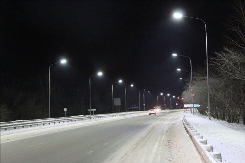 Проект светодиодного освещения моста для машин г. Тюмень
