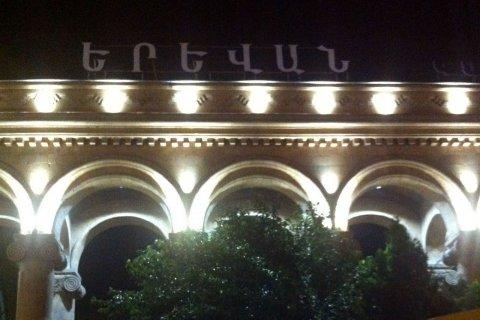 Проект архитектурного освещения ЖД вокзала