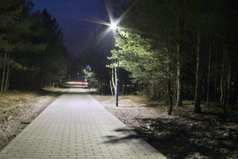 Светодиодное освещение велодорожек в Германии