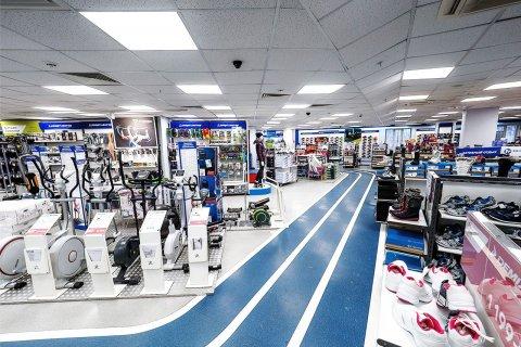 Магазин сети Спортмастер со светодиодными светильниками ЛидерЛайт