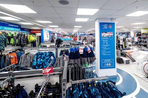 Потолочные LED светильники от ЛидерЛайт в сети магазинов Спортмастер