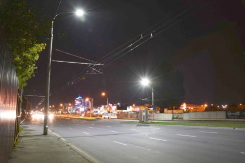 Светодиодное освещения г. Брест
