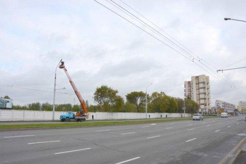 Замена  ДНаТ 400 Вт. на светодиодные г. Брест
