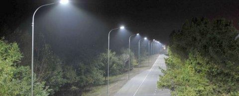 Проект освещения магистрали в Казахстан