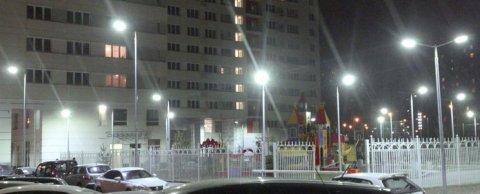 Освещение жилого квартала