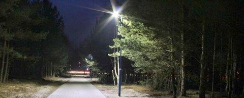 Парковое освещение в Берлине