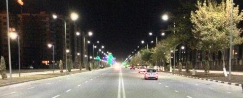 Уличное светодиодное освещение в г. Грозный