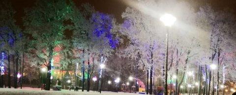 Парковые светильники в г. Чебоксары